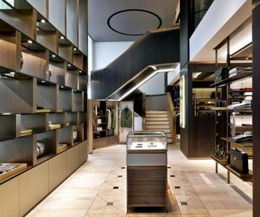 Park Associati Brioni-Store in Frankfurt