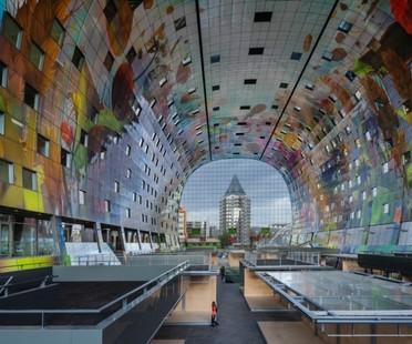 MVRDV Markthal - Markthalle und Wohnungen in Rotterdam