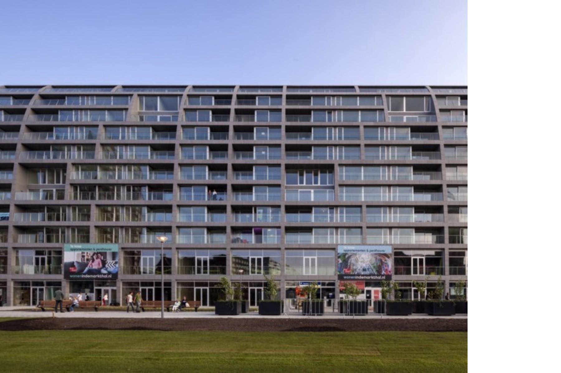 Mvrdv Markthal Markthalle Und Wohnungen In Rotterdam Floornature
