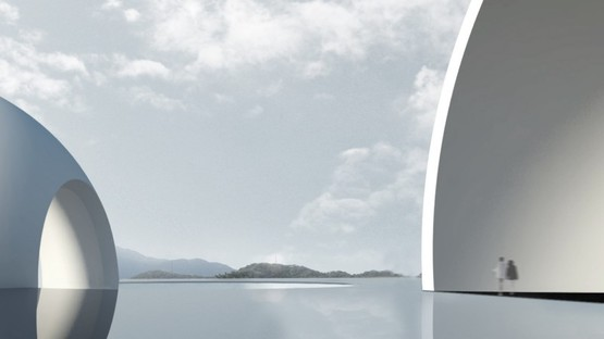 Steven Holl, Arrival Hall und Oceanic Pavilion, ChinPaoSan Necropolis Taiwan