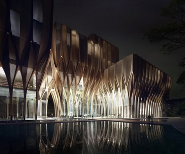 Zaha Hadid Architects Sleuk Rith Institute, Kambodscha