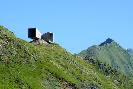 Die Timmelsjoch Erfahrung von Werner Tscholl Architekt