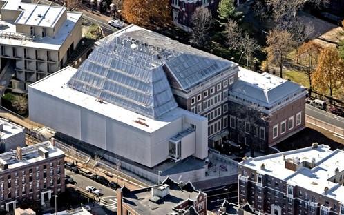 The Harvard Art Museums, Photo: Aerial by lesvants.com.
