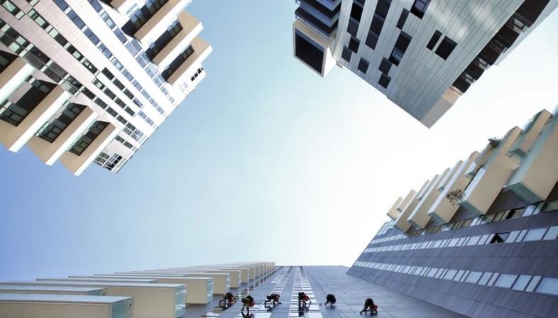 Ausstellung Grattanuvole. Ein Jahrhundert Wolkenkratzer in Mailand