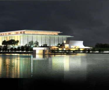 Beginn der Bauarbeiten für den Ausbau des John F. Kennedy Center for the Performing Arts