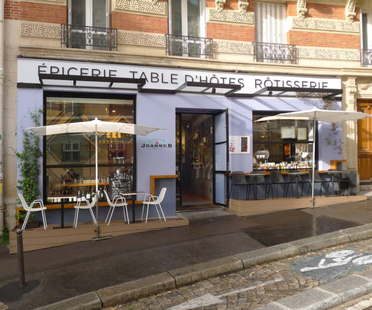 C comme C, Restaurant Jeanne B in Montmartre Paris