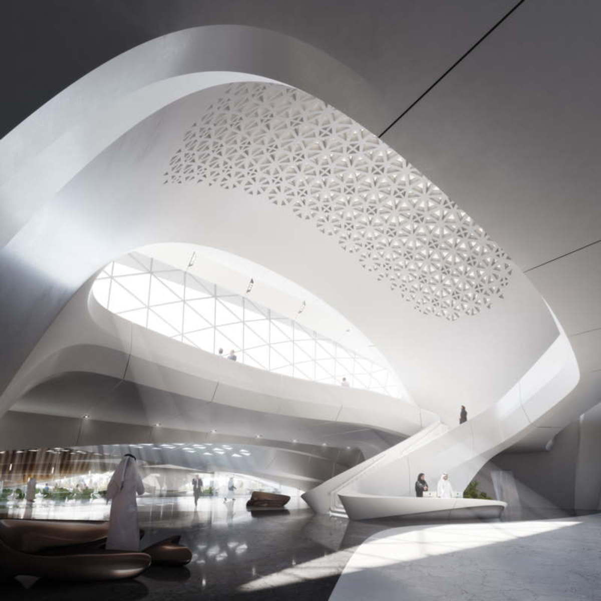 Zaha Hadid Bee\'ah Headquarters Sharjah UAE | Floornature