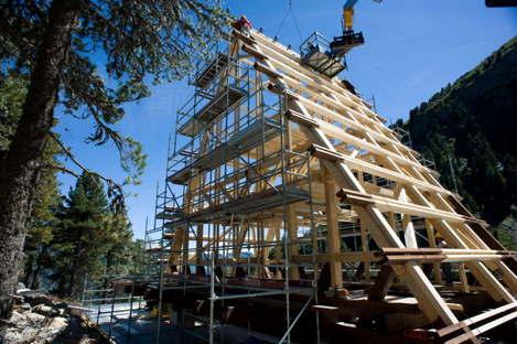 Rifugio Carlo Mollino - Projekt Casa Capriata 1954 - 2014