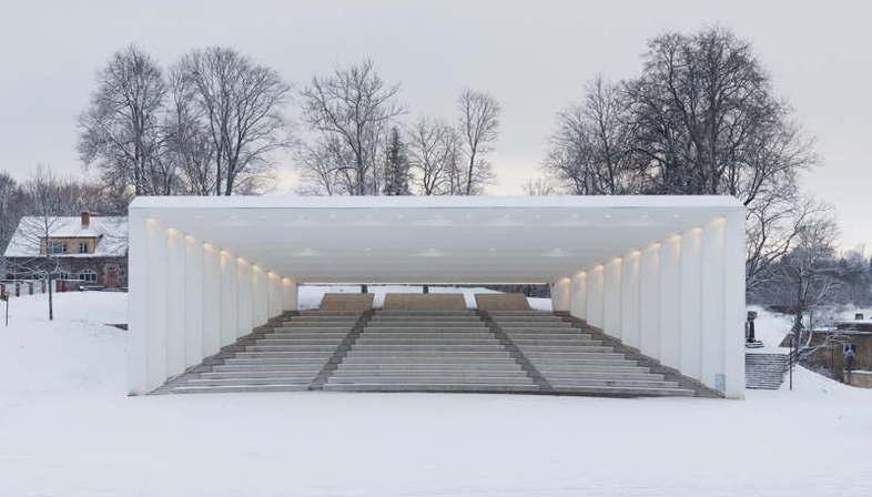 Kadarik Tüür Architects Viljandi Festival Arena Viljandi, Estland