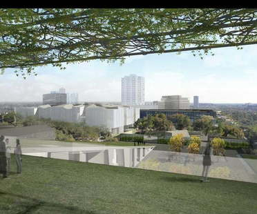 Steven Holl und Lake|Flato Architects  für das Museum of Fine Arts Houston