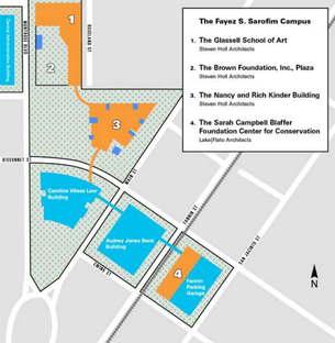Steven Holl und Lake|Flato Architects  für das Museum of Fine Arts Houston