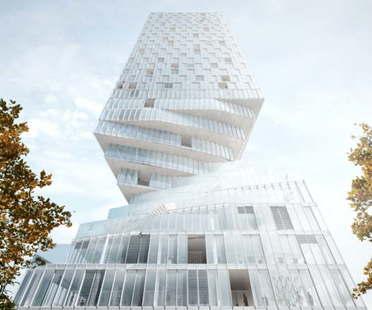 MVRDV gewinnt den Wettbewerb für den Bau des Turms mit Taille in Wien