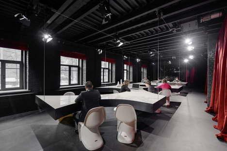 Metrogramma SuperSurfaceSpace Iris Gallery for Contemporary Design Moskau