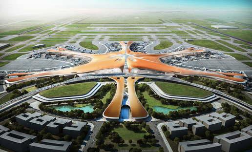 Zaha Hadid und ADPI Beijing New Airport Terminal Building