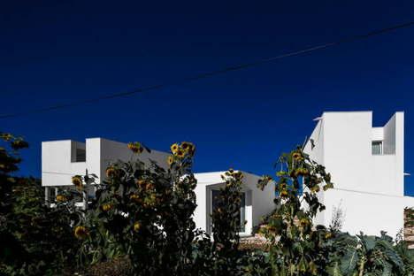 Contaminar Arquitectos Wohnhaus Texugueira House