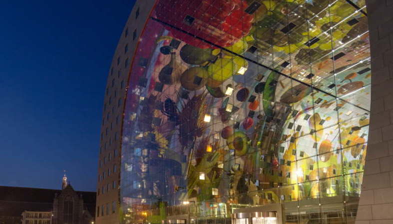 MVRDV Markthal Rotterdam  Best Shopping Centre bei den Mipim Awards 2015