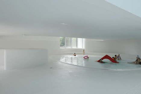 Dominique Coulon Renovierung und Ausbau des Schwimmbads von Bagneux Paris