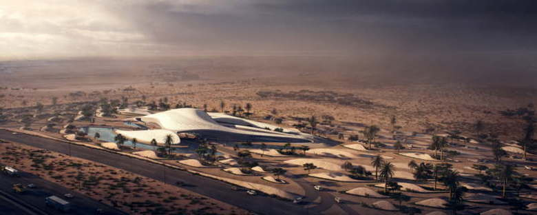 MIR Creative Studios Animation von Bee'ah Headquarters Zaha Hadid Architects
