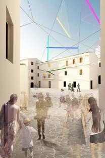 Alvisi Kirimoto + Partners Piazza Faber Tempio Pausania Sardinien