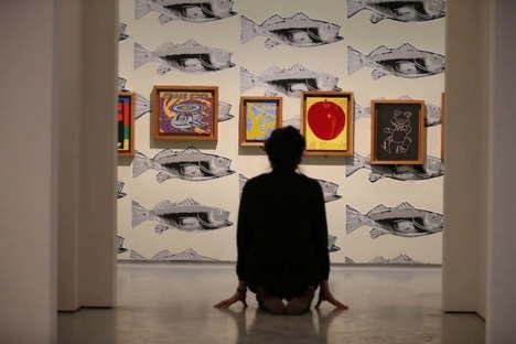 Dyvik Kahlen Architects Ausstellungsgestaltung in der Barbican Art Gallery