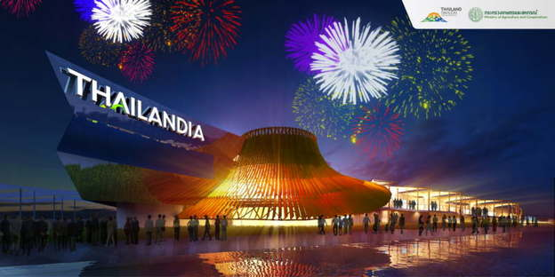 Pavillon von Thailand auf der Expo Mailand 2015