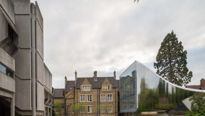 Zaha Hadid Investcorp Building Middle East Centre St Antony's College Oxford University