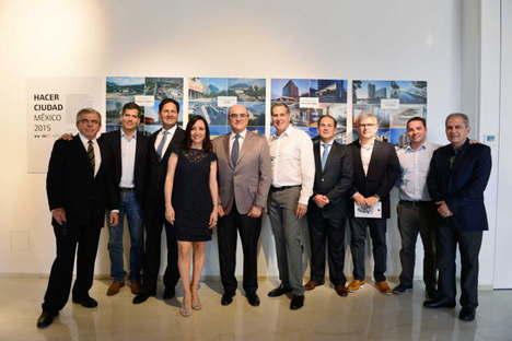 Eröffnung der Ausstellung Hacer Ciudad  México 2015 SpazioFMG
