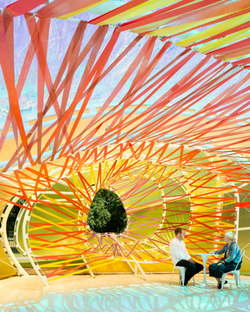 serpentine Pavilion 2015 designed by selgascano - Photo by Jim Stephenson