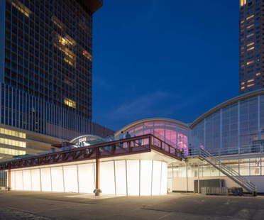 TomDavid Architects Pop Up Luggage Space Rotterdam