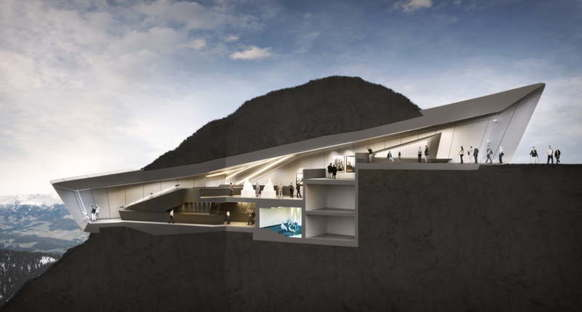 Messner Mountain Museum Zaha Hadid Architects