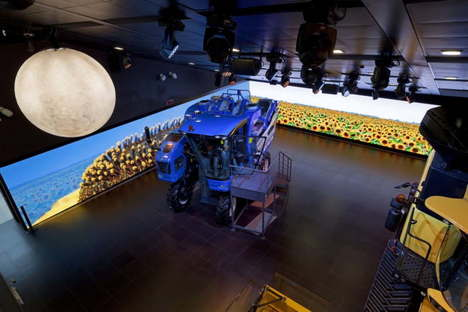 Sustainable Farm Pavillon New Holland Agriculture Expo Mailand 2015