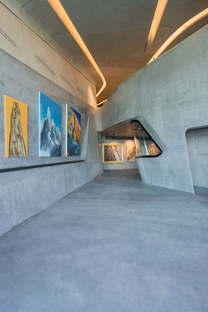 MMM Corones Zaha Hadid Architects live von der Eröffnung