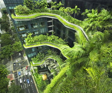Woha PARKROYAL on Pickering Singapur gewinnt den CTBUH Urban Habitat Award 2015