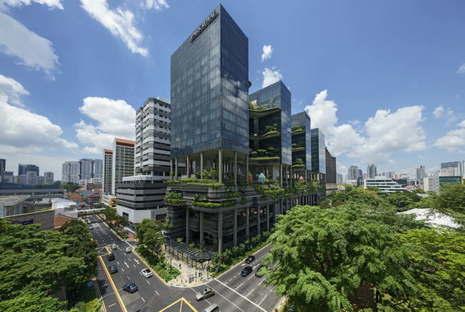Woha PARKROYAL on Pickering Singapur gewinnt den CTBUH Urban Habitat Award 2015
