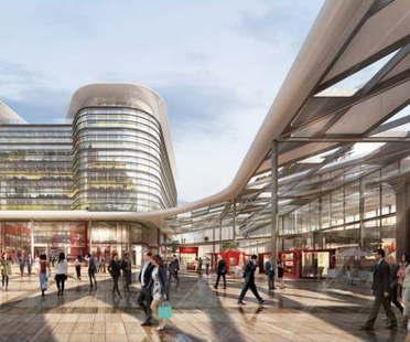 Das Projekt von Foster + Partners gewinnt den Wettbewerb Cardiff Interchange