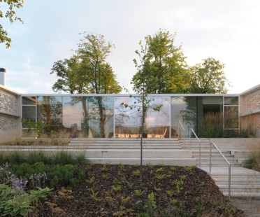 Reiach and Hall Architects Maggie's Lanarkshire Schottland