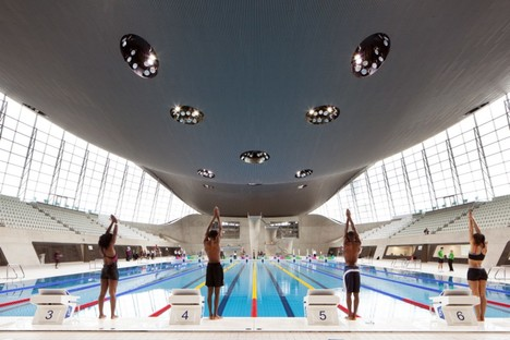 London Aquatics Centre photo by Luke Hayes