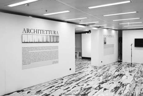 Fotoausstellung Architettura sintattica Mailand