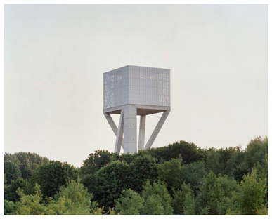Vplus Wasserspeicher - Chateau d'eau Mons Ghlin Belgien