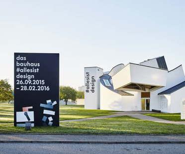 Ausstellung Vitra Design Museum Das Bauhaus #allesistdesign