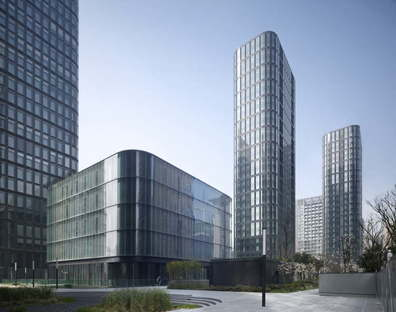 gmp Dayuan International Center in Chengdu China