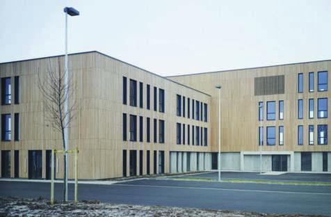 Coldefy CAAU Gebäude in den Docks von Cambrai