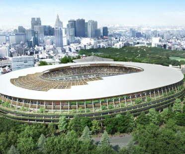 Kengo Kuma plant das Olympiastadion von Tokio anstelle von Zaha Hadid