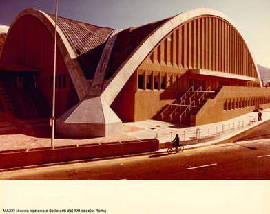 Ausstellung Pier Luigi Nervi Architekturen für den Sport