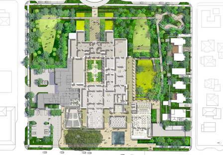 Beginn der Bauarbeiten am Foster + Partners Norton Museum of Art, Florida