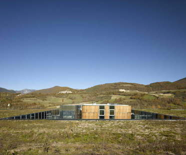 Enzo Eusebi unterirdische Wurstwarenfabrik in Umbrien