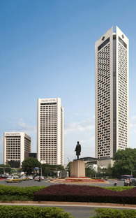Asia Pacific Tower & Jinling Hotel, Nanjing - P & T Group