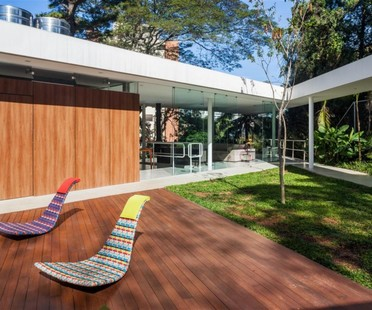 FGMF Architects Haus mit Patio in São Paulo Marquise House
