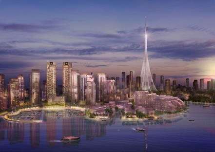 Santiago Calatrava The Tower Dubai Creek Harbour