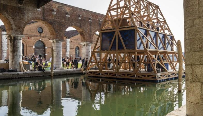 NLÉ Silberner Löwe Venedig  Serpentine Summer House London